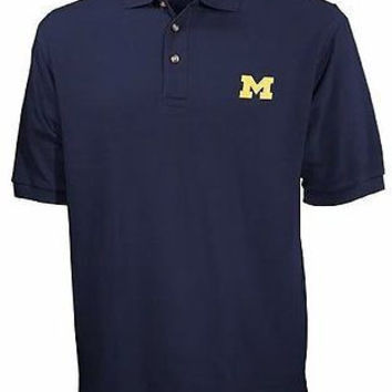 University of Michigan Wolverines Polo Golf Shirt Size 6XL