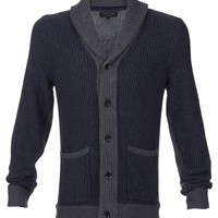 Asher Shawl Fisherman Cardigan