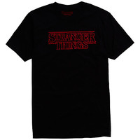 Stranger Things Logo T-Shirt