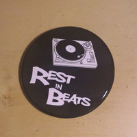 Rest In Beats - Nujabes Inspired Button