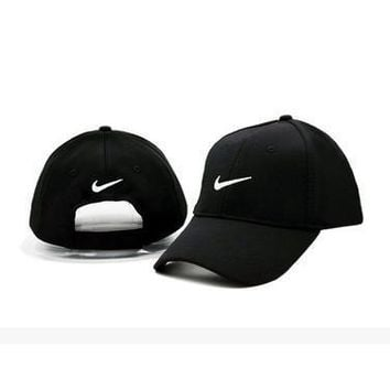 Nike Women Men Embroidery Baseball Cap Hat Sport Sunhat Cap-1