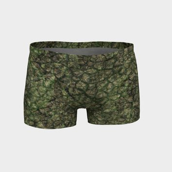 Athletic Shorts Earth Scale Print