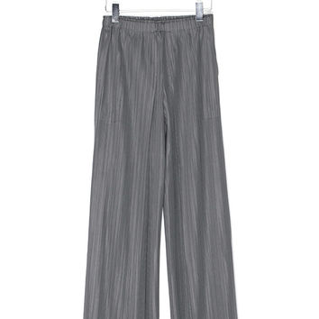 Wide Leg Pleated Pants