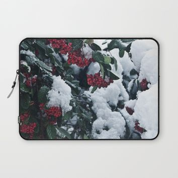Winter and snow Laptop Sleeve by VanessaGF | Society6