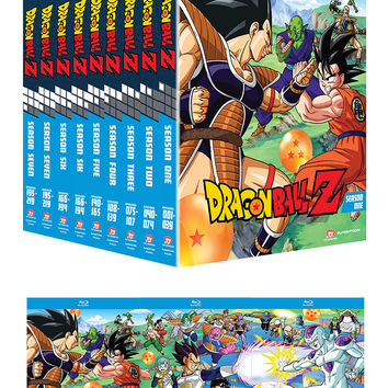 Dragon Ball Z Season 1-8 Blu-ray Holiday Bundle