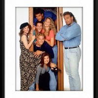 Saved by the Bell Framed And Matted 8x10 Color Photo