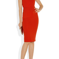 Roland Mouret | Pernice one-shoulder wool-crepe dress | NET-A-PORTER.COM
