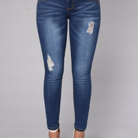 Keep It Real Jeans - Medium Wash