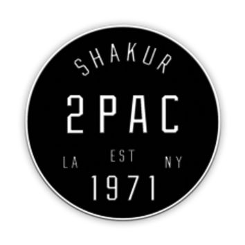 Tupac Shakur | Coast To Coast Patch