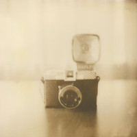 Camera Love - Polaroid Photography Art Print by Briana Morrison