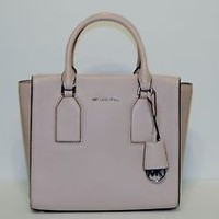 New MICHAEL KORS SELBY BALLET PEBBLED LEATHER MEDIUM Satchel BOX $358 bag tote