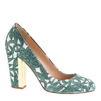J.Crew Womens Collection Blakely Printed Pumps