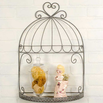 Medium Birdcage Trinket Shelf - *FREE SHIPPING*