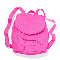 Boxy Mini Backpack - PINK - Victoria's Secret