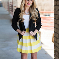 All Dolled Up Skirt-Yellow
