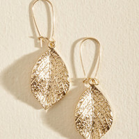 I'll Take My Leaf Earrings | Mod Retro Vintage Earrings | ModCloth.com