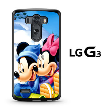 Mickey Mouse and Minnie Mouse LG G3 Case