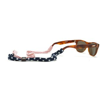 Stars and Stripes Sunglass Straps by Knot Clothing & Belt Co.