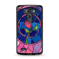 Beauty and The Beast Rose LG G3 case