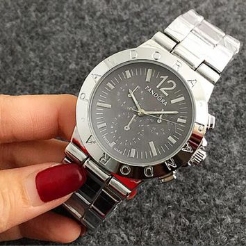 One-nice™ PANDORA Hot Sale Vintage Fashion Watch Round Ladies Women Men wristwatch On Sales Jovial(With Thanksgiving&Christmas G