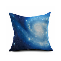 Home Decor Sofa Galaxy S Cotton Linen Cushion Cover [6451664390]