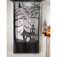 Holiday Inspirations- Haunted House Lace Door Panel & Halloween Decor at Joann.com