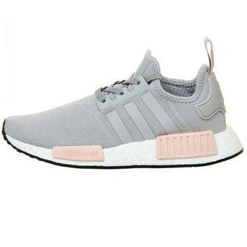 PEAPNU Adidas' NMD Women Fashion Trending Running Sports Shoes Grey