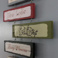 Wall Hanging Family Is Everything Sign
