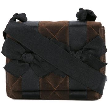 GKIN3 Chanel Vintage Ribbon Quilted Crossbody Bag