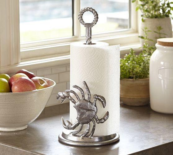 Crab Paper Towel Holder From Pottery Barn