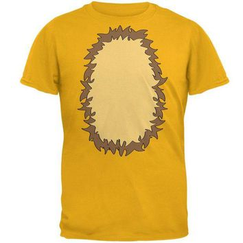 LMFCY8 Halloween Lion Costume Mens T Shirt
