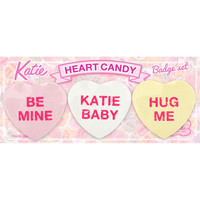 BADGE heart candy set