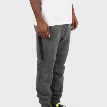 Tech Fleece Pants - tumbled grey/black/volt