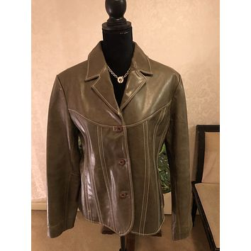 Wilson's Leather Maxima Genuine Leather Jacket, Size XL