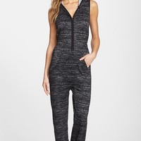 Women's DKNY Hooded Sleeveless Lounge Jumpsuit,