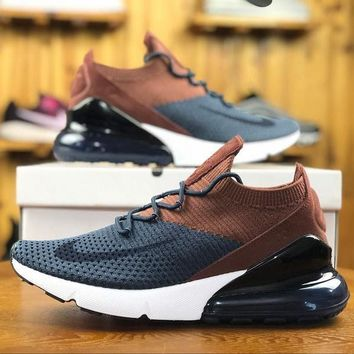 Nike Air Max 270 Flyknit AO1023-004 Sport Running Shoes - Best Online Sale