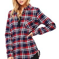 Solo Plaid Fleece Flannel