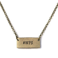 #WPS Necklace