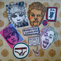5 Seconds of Summer/ 5SOS/ Sticker Pack/ Pack of 10/ Stickers