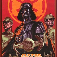 Star Wars Fly for the Glory Poster 24x36