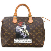 Louis Vuitton Vintage Speedy Printed Tote - Farfetch
