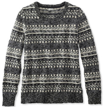 Women's Cotton Ragg Sweater, Fair Isle Pullover | Free Shipping at L.L.Bean