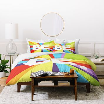 Kal Barteski BE Spectrum 1 Duvet Cover