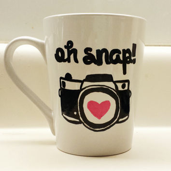 Oh Snap! Photography Lover's Mug