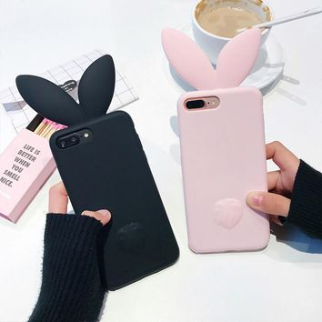 3D Cute Rabbit Ear Case