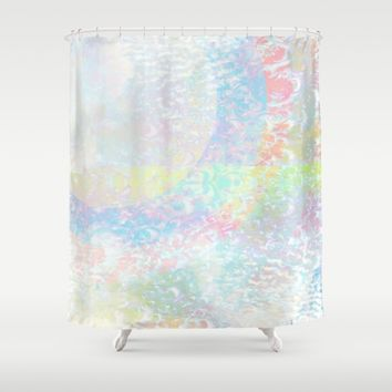 The Grey Area Shower Curtain by Ben Geiger