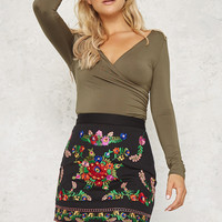 Arctic Angel Skirt Black