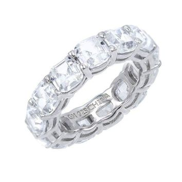 Diamond Cut Eternity Band