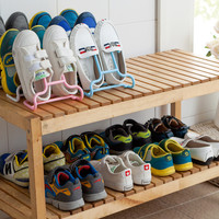 RL Multifunctional storage rack can be made in children with 2 of the balcony in the shoe airing shelf