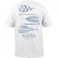 Faded Paddles Tee - Tops - Mens